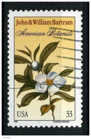 USA 1999 - Scott 3314 used - 33c, John & William Bartram  (j -466)