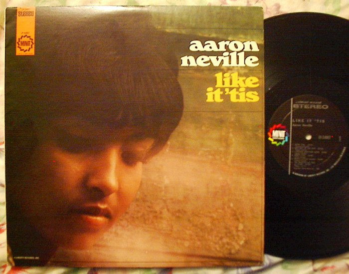 Aaron Neville 1ST LP Like It 'Tis RARE R+B Soul Gospel