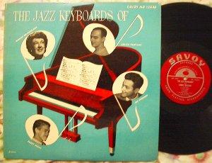 Jazz Keyboards of - McPartland Scott Tristano Bashkin