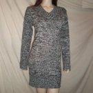 DOLLHOUSE  Knit Dress Gray Black L
