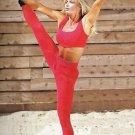 Body Alive Sport Workout Womens Thermal Bra Top M Black