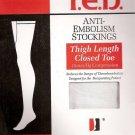 Futuro T.E.D. Stockings Thigh  Length Closed Toe 582200