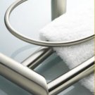 "Baldwin Cecina 24"" DOUBLE TOWEL BAR 3492-150-24 Nickel"