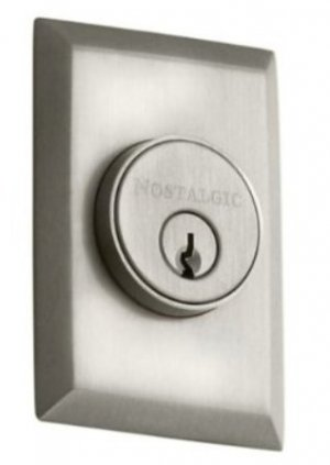 Nostalgic Warehouse SINGLE CYLINDER DEADBOLT 703604