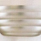 Hampton Bay Contemporary Wall Sconce 505 398 B Steel