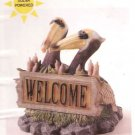 Cascade Solar Garden Accent Path Light WELCOME SIGN