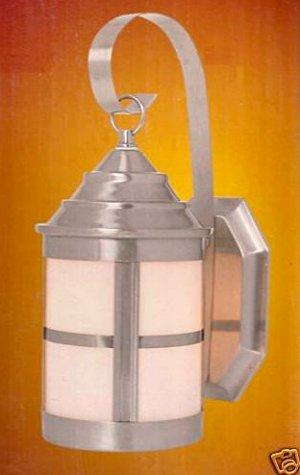 Portfolio Outdoor Light Wall Lantern 141430 B Nickel