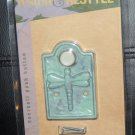 Restore & Restyle DRAGONFLY Wired Doorbell Push Button GREEN