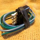 """HOPKINS TOWING SOLUTIONS 18"""" Wire 5 Flat Trailer Connector 47915"""