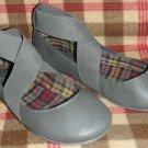 Aldo Concatelli Women Flats Shoes Size 6.5  8  ( 37 ) Gray Grey