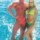 Body Alive Sport Women Bikini Brazilian Bottom  M Hot Pink