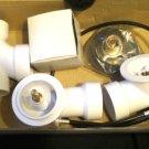 "WESTBRASS 1-1/2"" Cable Drive Waste Overflow Bath Drain D50P27S-26 Chrome"