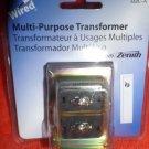 Heath Zenith Wired Door Bell Doorbell Chime Multi-Purpose Transformer 122C-A