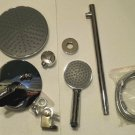 INWALL Round Showerset W/  Handy Unit Tap Chrome MC2