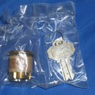 """BALDWIN  1-3/8"""" Mortise Single Cylinder C Keyway 8324.031 Non-Lacquered Brass"""