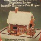 FOX RUN CRAFTSMEN Vintage Gingerbread House Bake Set SEALED 4532
