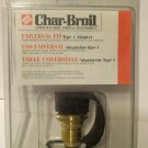 CHAR-BROIL Propane Cylinder Adapter Standard Tank Valve To Type 1 4484687