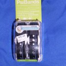 PSI BANDS Drug free Wrist Band For The relief Of Nausea Racer Black