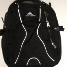 High Sierra Swerve Backpack 53665 Black W/ Grey Trim