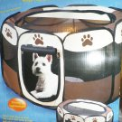 "PET STORE 17""H x 29""W Portable Pet Play Pen Playpen Small 4569"