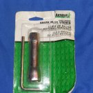 """ARNOLD 5/8"""" 3/4"""" Hex Plug Lawn & Garden Small Engine Spark Plug Wrench SPW-136"""