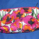 CLINIQUE By Vera Neumann Cosmetic Make Up Bag Floral Print
