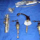 DANZE Sheridan 2 Handle Widespread Lavatory Faucet D304055 Chorme