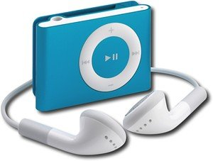 Blueshuffle: Ipod Apple Ipod Shuffle 1GB* MP3 Player - Blue