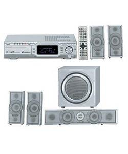 SCHT670(R): Panasonic Panasonic SHT670 600W 5-Disc DvD Home Theater System