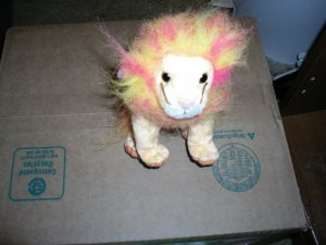 Ty Bushy Lion
