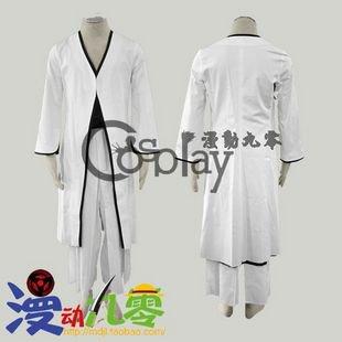 Bleach Kurosaki Ichigo 2nd White Cosplay Costume