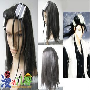 Bleach Kuchiki Byakuya Cosplay Wig