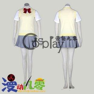 Bleach Kuchiki Rukia Autumn School Uniform Cosplay Costume