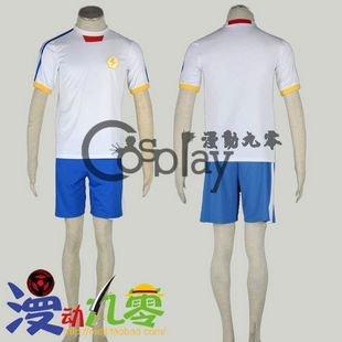 Inazuma Eleven Fubuki Shiro 2nd Football Clothes Cosplay Costume
