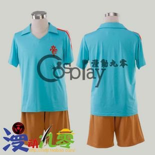 Inazuma Eleven Zhendi School Football Clothes Cosplay Costume