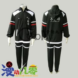 The Prince of Tennis Fudomine Winter Tennis clothes Cosplay Costume
