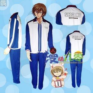 The Prince of Tennis Seigaku Echizen Ryoma Winter Tennis clothes Cosplay Costume