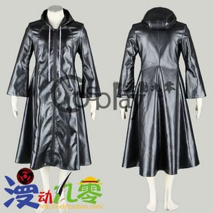Kingdom Hearts Thirteen Organs Axel Cloak Cosplay Costume