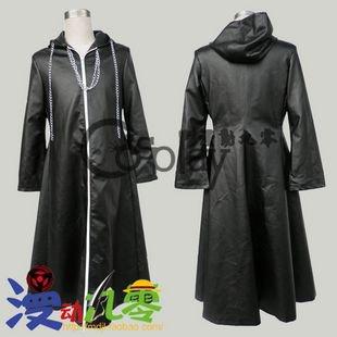 Kingdom Hearts Thirteen Organs Roxas Cloak Cosplay Costume