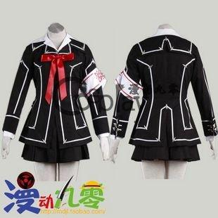 Vampire Knight Kuran Yuuki Day Class Women's School Uniform Cosplay Costume