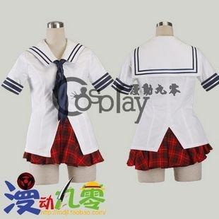 Ikkitousen Sonsaku Hakufu School Uniform Cosplay Costume