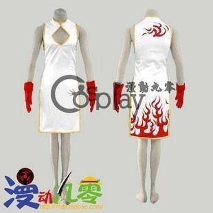 Ikkitousen Sonsaku Hakufu Cheongsam Cosplay Costume