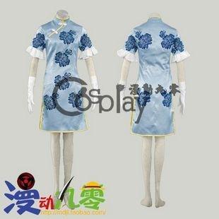 Ikkitousen Chyouun Shiyuu Cheongsam Cosplay Costume
