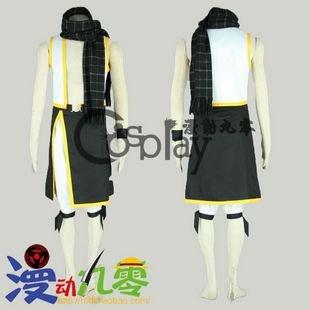 Fairy Talt Natsu Dragneel 2nd Cosplay Costume