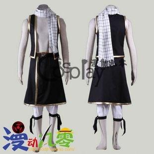 Fairy Talt Natsu Dragneel 1st Cosplay Costume