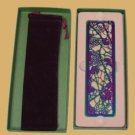 Zentrum Studios Tiffany GRAPE ARBOR Irid.Bookmark boxed