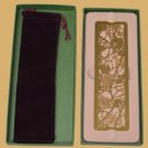 Zentrum Studios Tiffany GRAPE ARBOR Gold Bookmark boxed