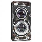 Vintage Camera iPhone 4 hard case (Black) - i4cam2