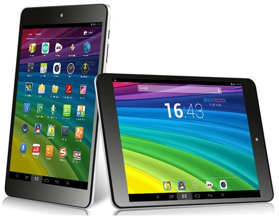 7.9 Inch Mini Quad Core Android 4.2 Tablet PC; 1GB DDR3; 16GB; Dual Cam; IPS HD