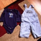 Baby Jumpsuit Set Sz 12-18m